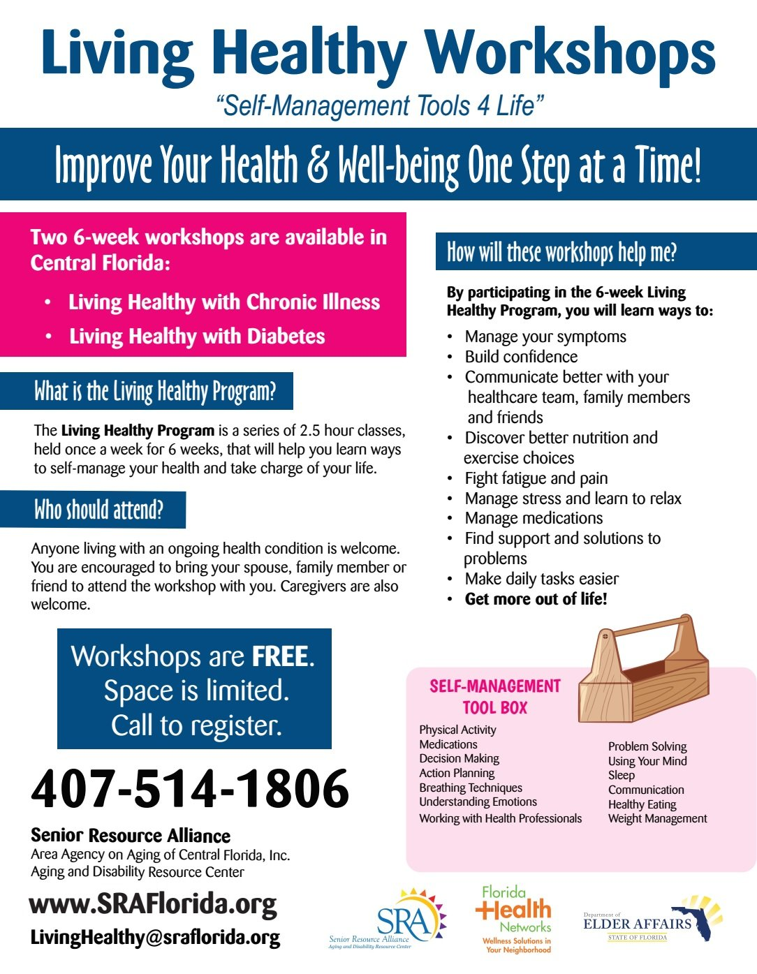 for Wellness older adults program